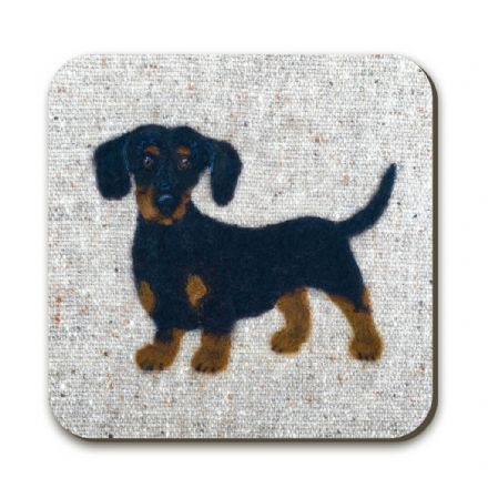 Dachshund Coaster by Sharon Salt